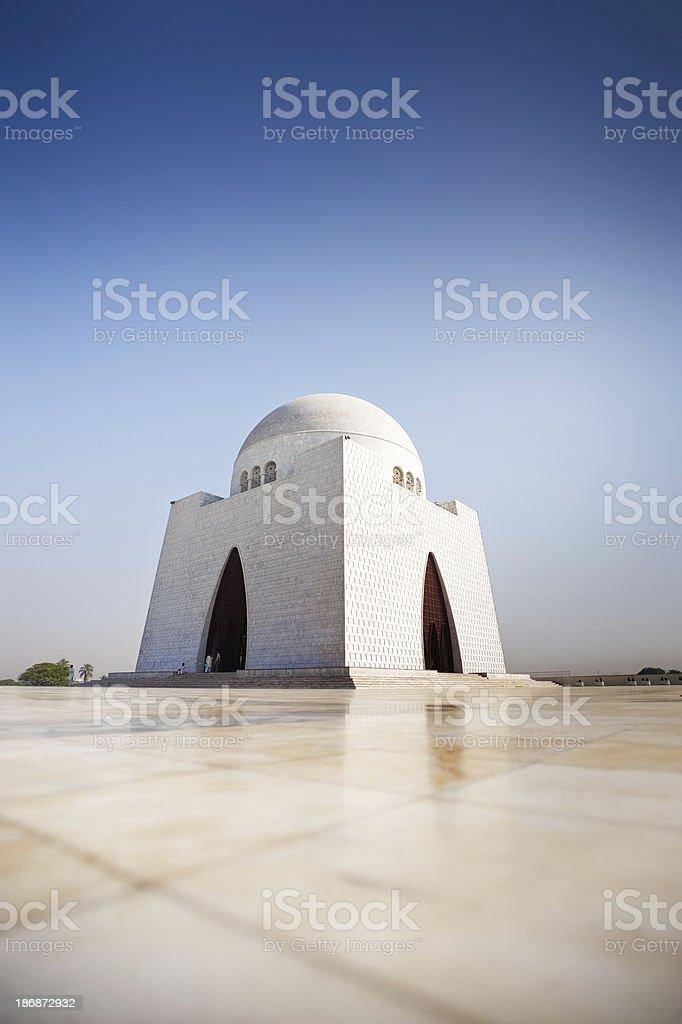 Quaid-e-Azam Mausoleum stock photo