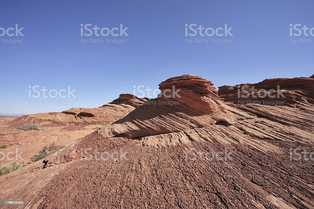Quaint and picturesque forms cliffs royalty-free stock photo