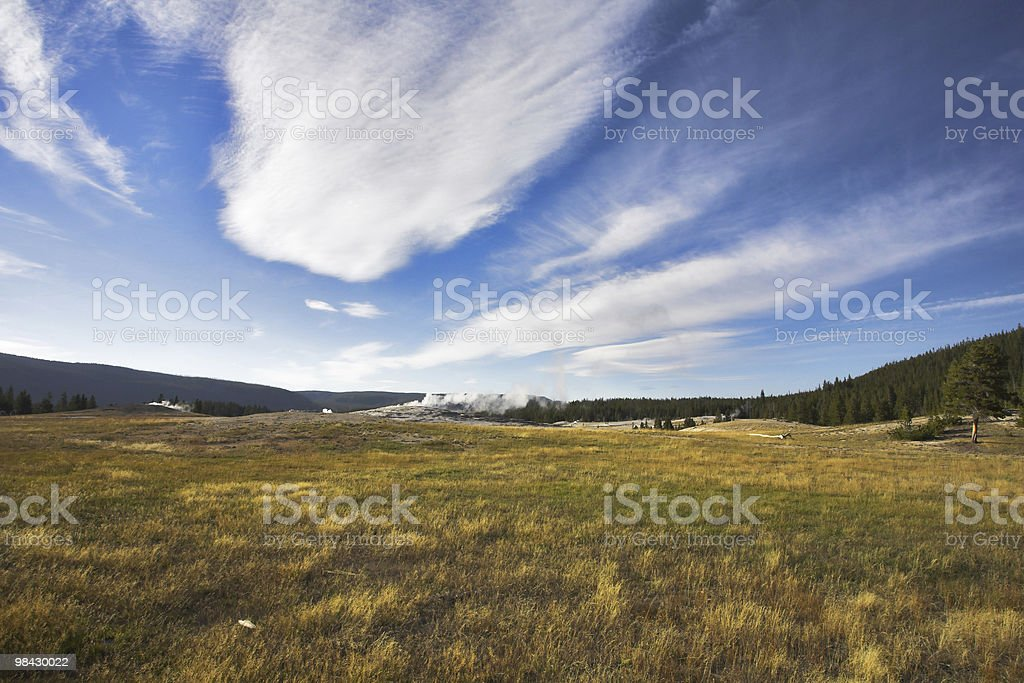 Quaint clouds royalty-free stock photo