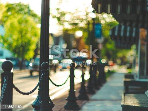 Quaint Pretty Downtown Background