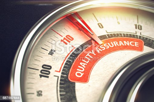 istock Quality Assurance - Business or Marketing Mode Concept. 3D 687467644