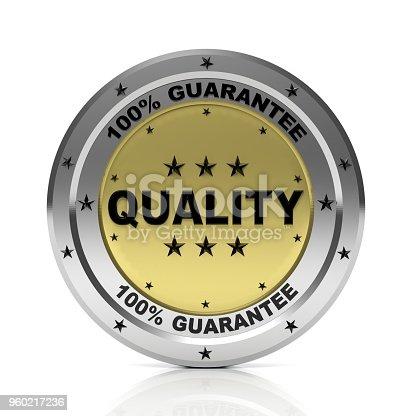 istock Quality badge 960217236