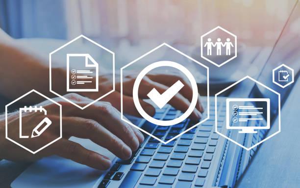 품질 관리 인증, 표준의 확인 보증 - 일과 뉴스 사진 이미지