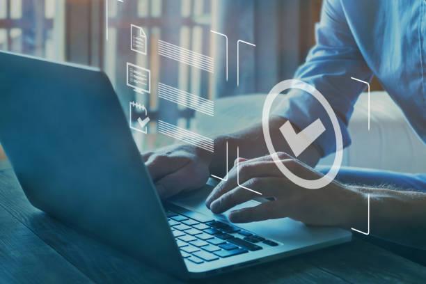 qualitätskontrolle zertifizierung, geprüfte garantie der standard- - anleitung konzepte stock-fotos und bilder