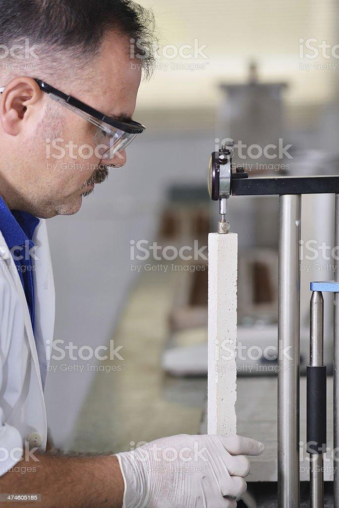 Quality control laboratory stock photo