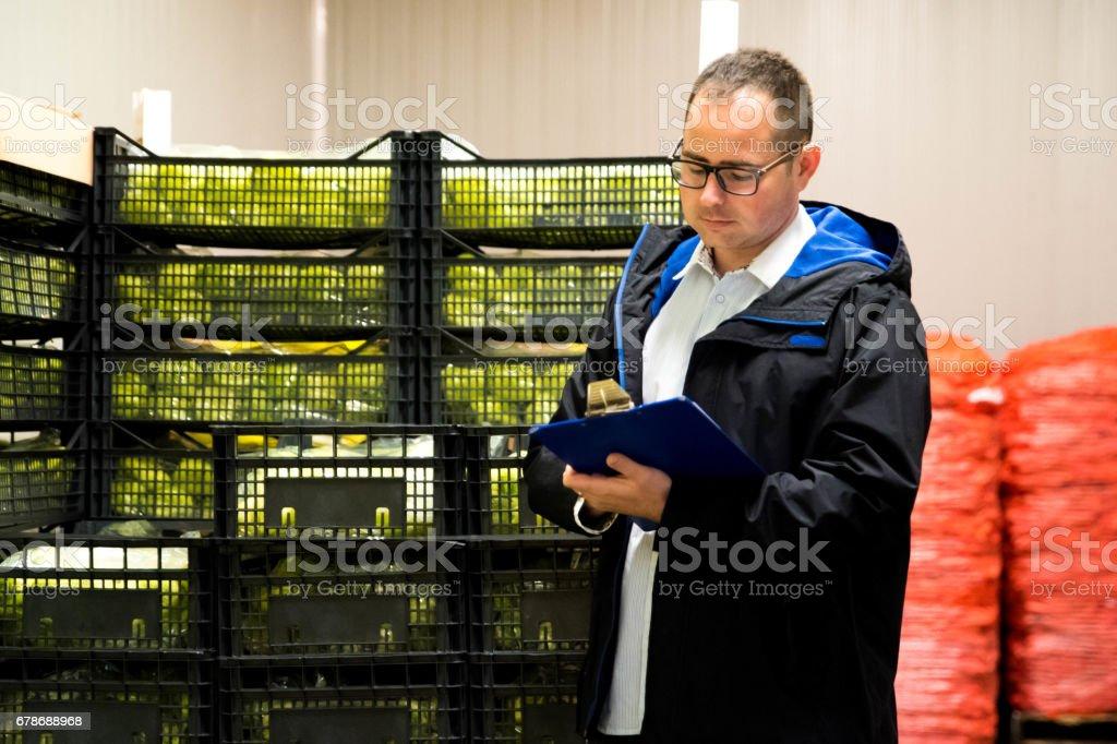 Quality control stock photo