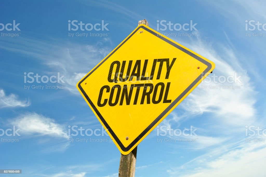 Quality Control stock photo