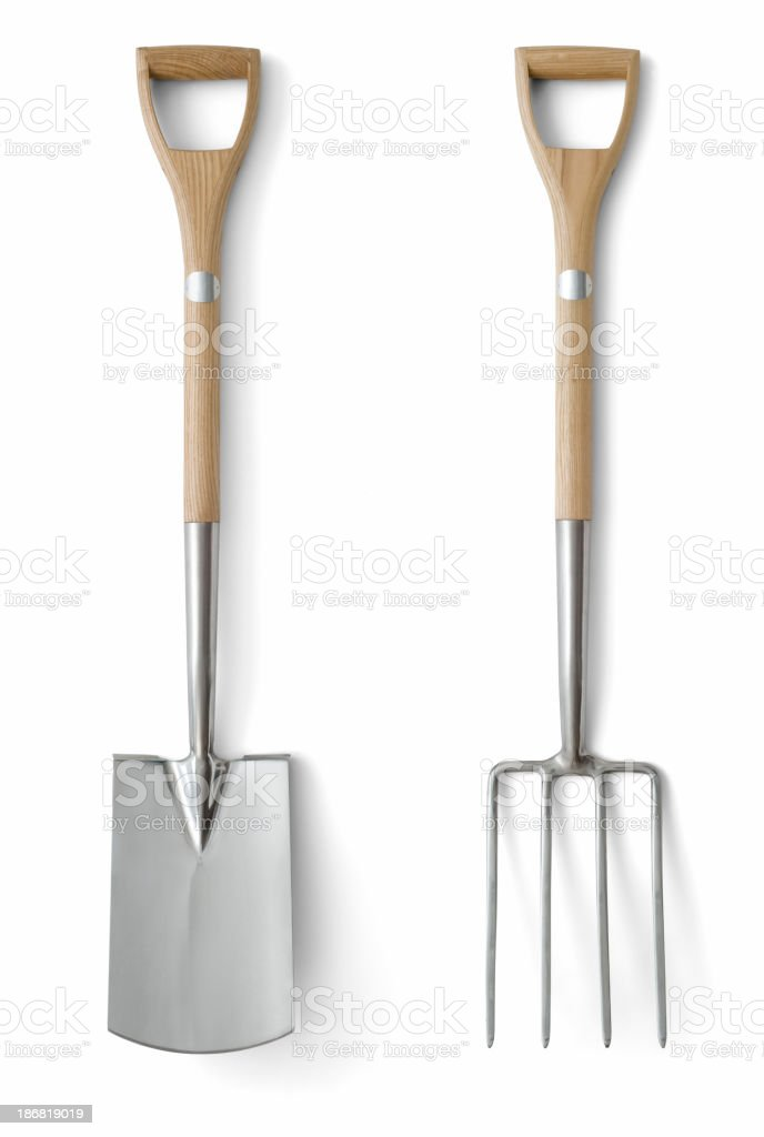 Quality Garden Tools royalty-free stock photo