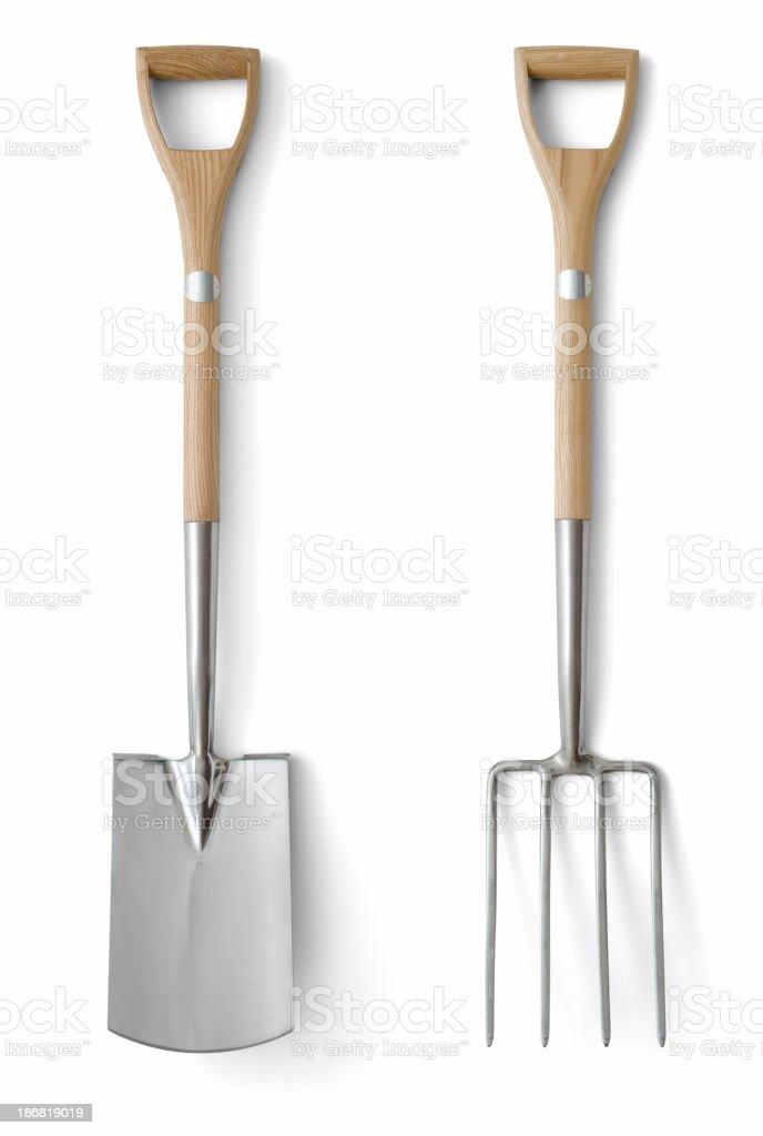 Quality Garden Tools stock photo