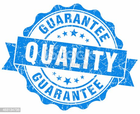 quality guarantee blue seal