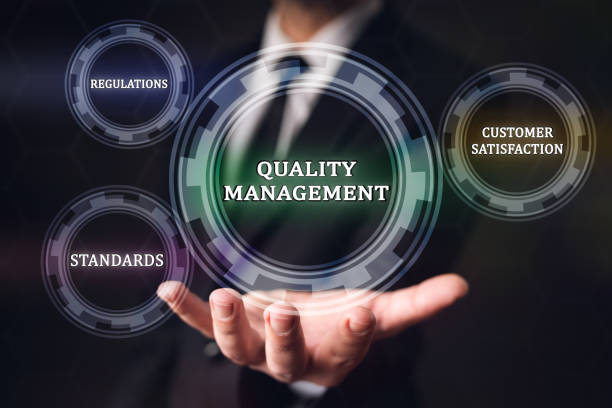 Quality Management Concept stock photo