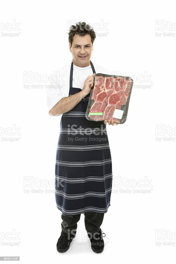 Quality Meat royalty-free stock photo