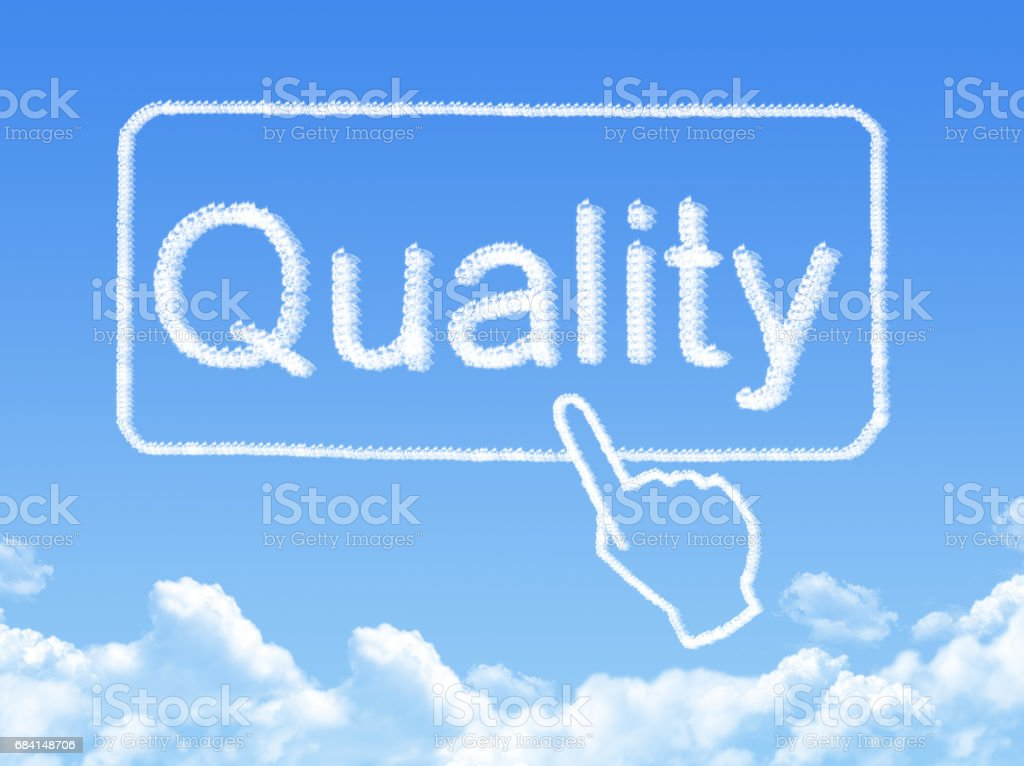quality message cloud shape royalty-free stock photo
