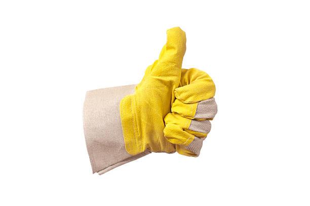 qualität - arbeitshandschuhe stock-fotos und bilder