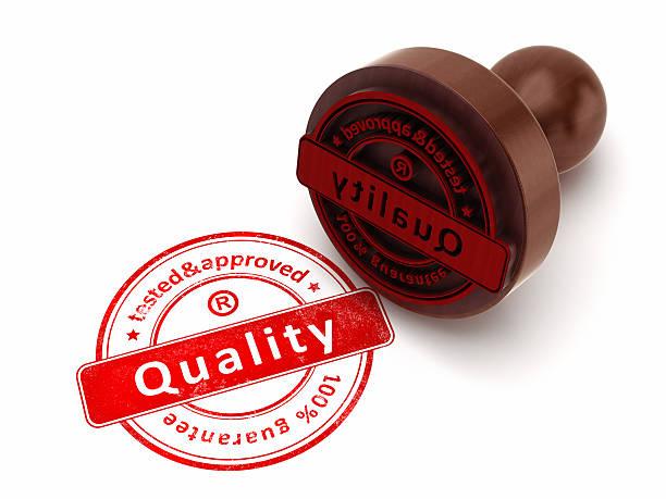 品質 stamp ストックフォト