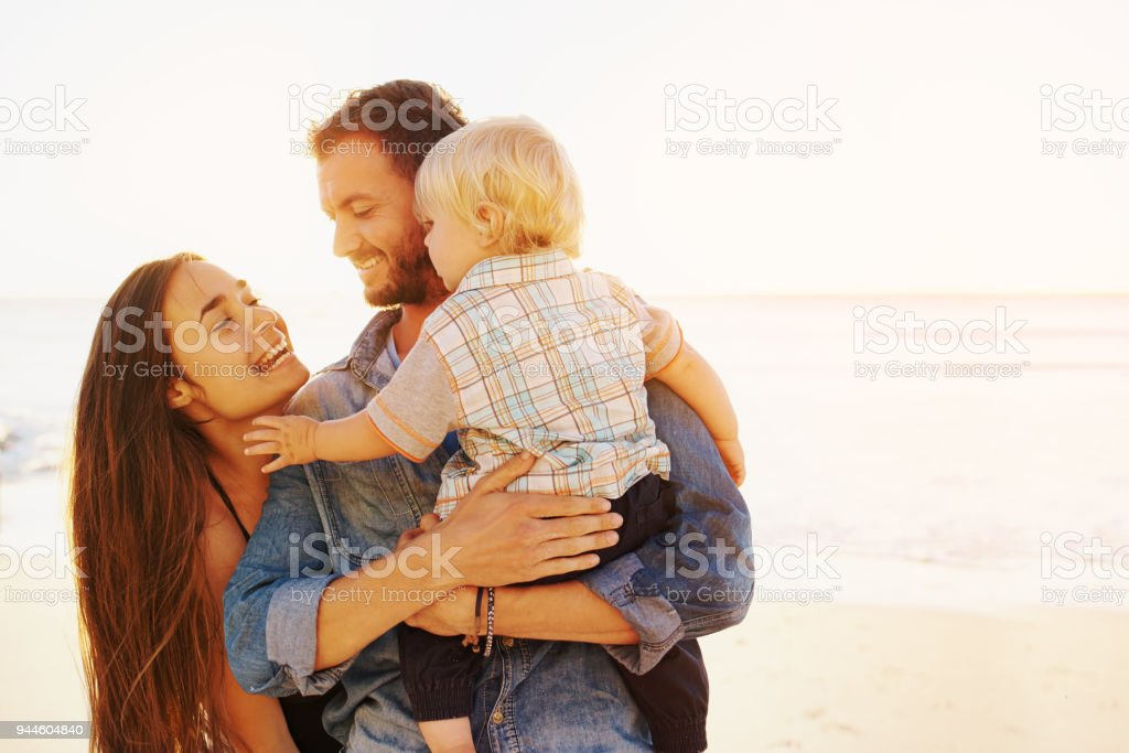 Quality time is simply vital stock photo