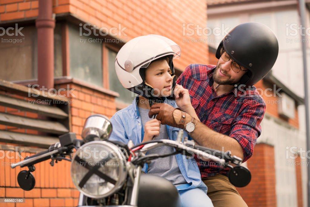 品質時間與父親 免版稅 stock photo
