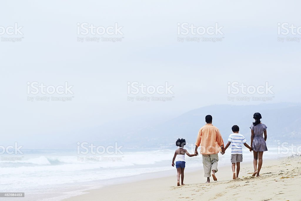 Quality time with the kids stock photo