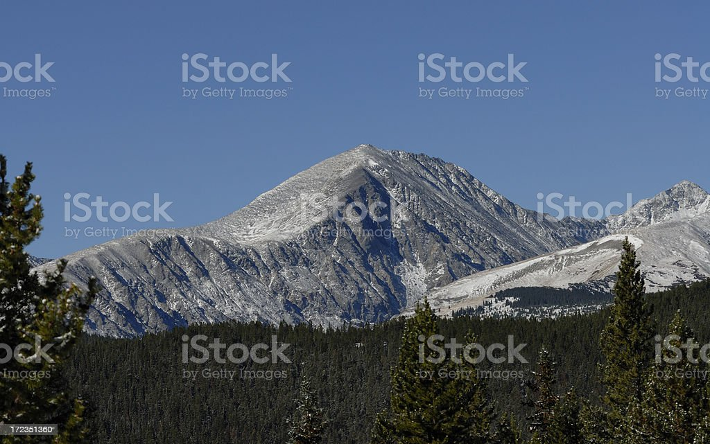 Quandry Mountain royalty-free stock photo