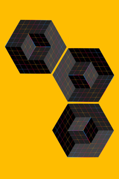 Quantencomputing abstrakt – Foto