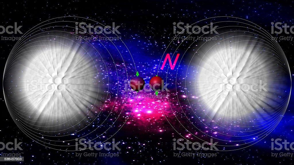 quantum computing stock photo