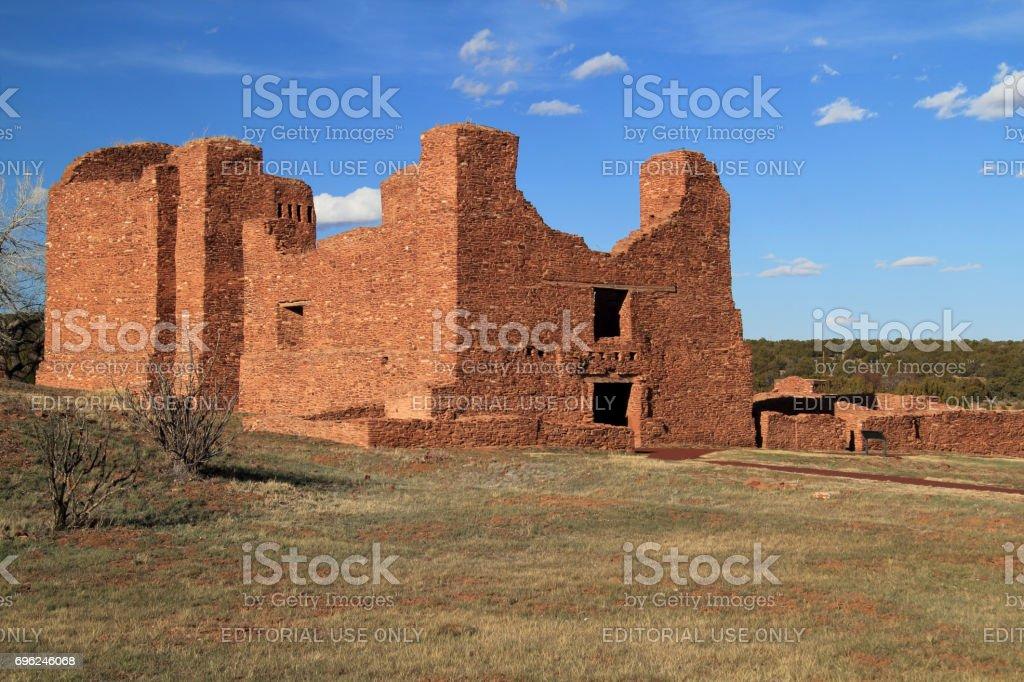 Quarai Ruins stock photo