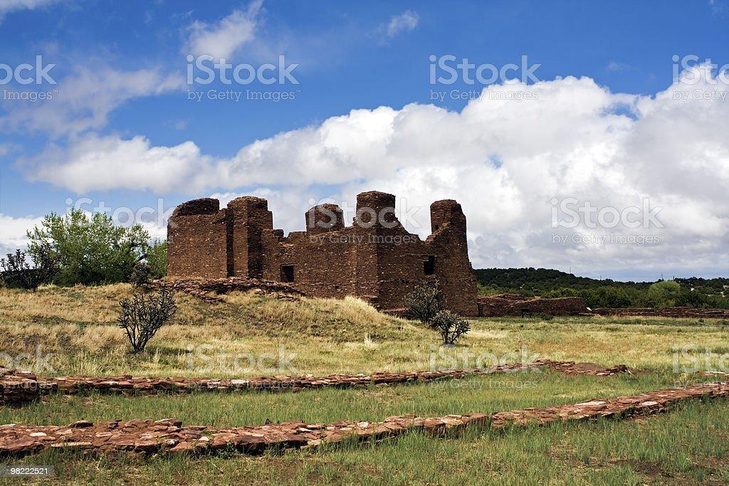 Quarai Ruins royalty-free stock photo