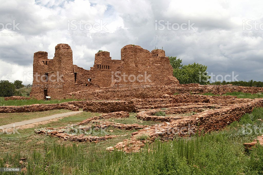 Quarai Ruins Salinas Pueblo National Monument royalty-free stock photo