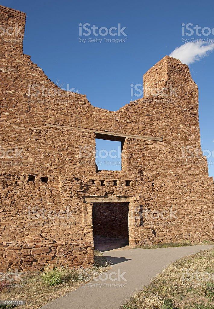 Quarai Ruins Salinas Pueblo National Monument stock photo