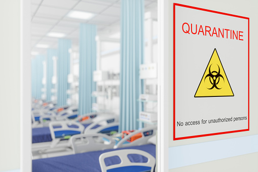 istock Quarantine Room in Hospital 1214476653