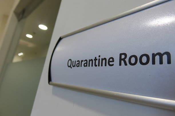 Quarantine room stock photo