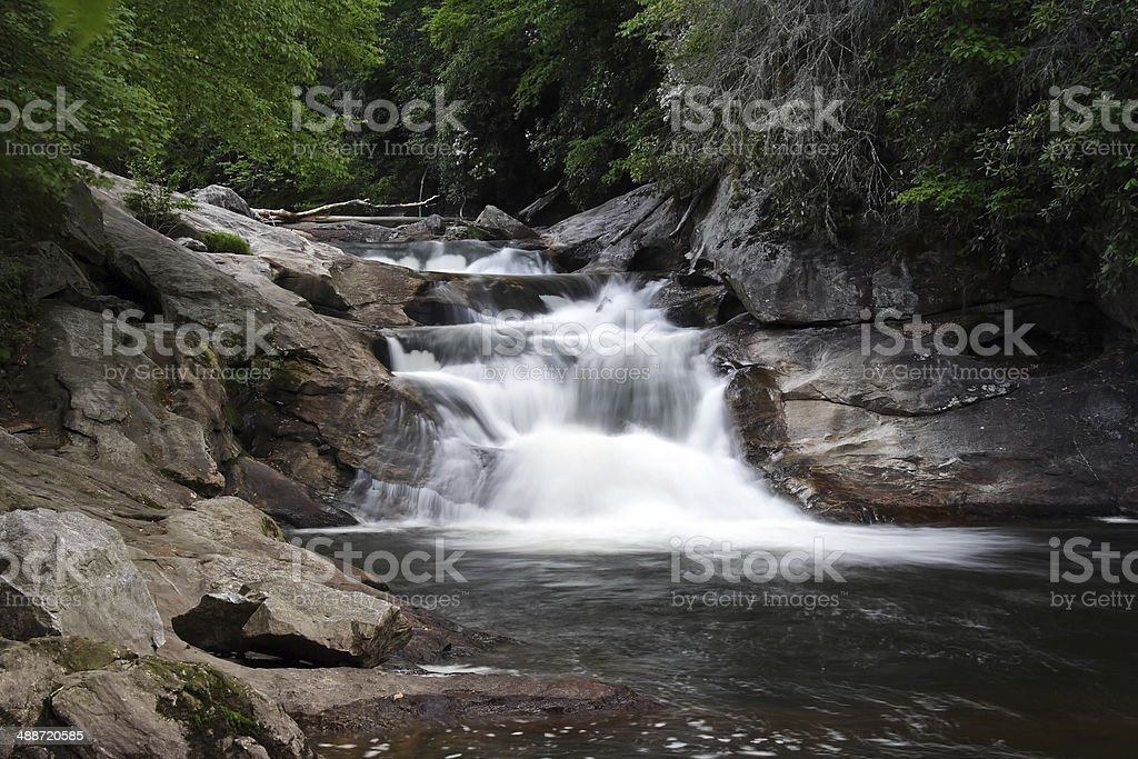 Quarry Falls stock photo