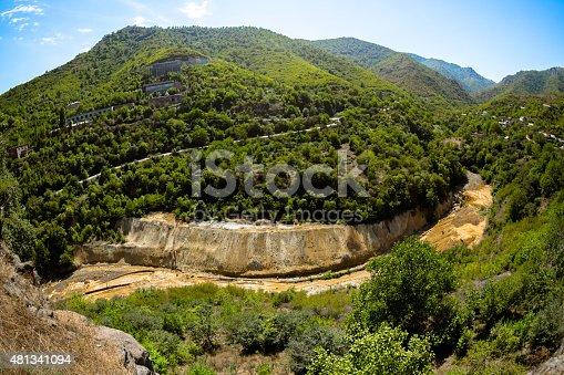 Quarry in Caucasus Mauntains