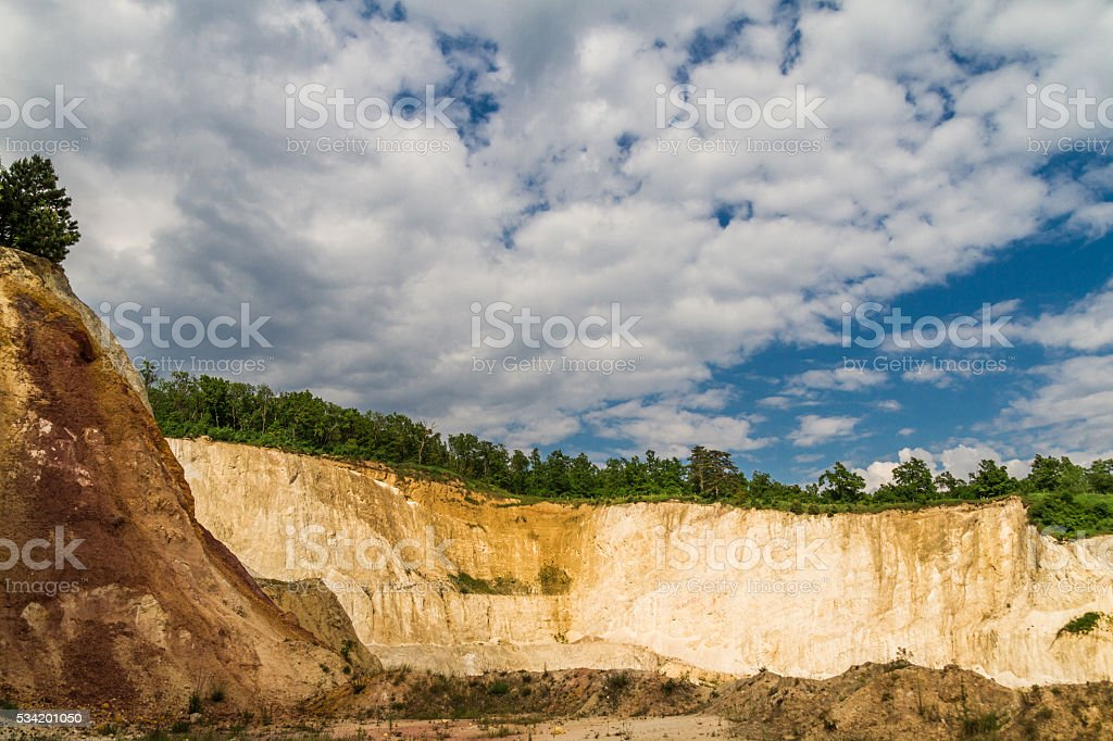 Quarry. Mining industry stock photo