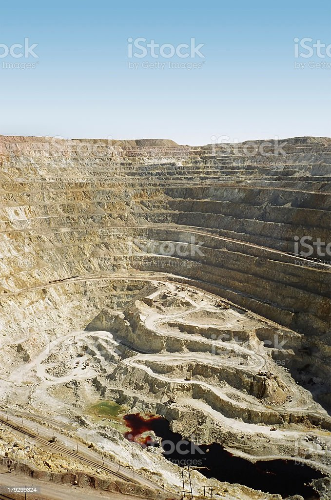 quarry royalty-free stock photo