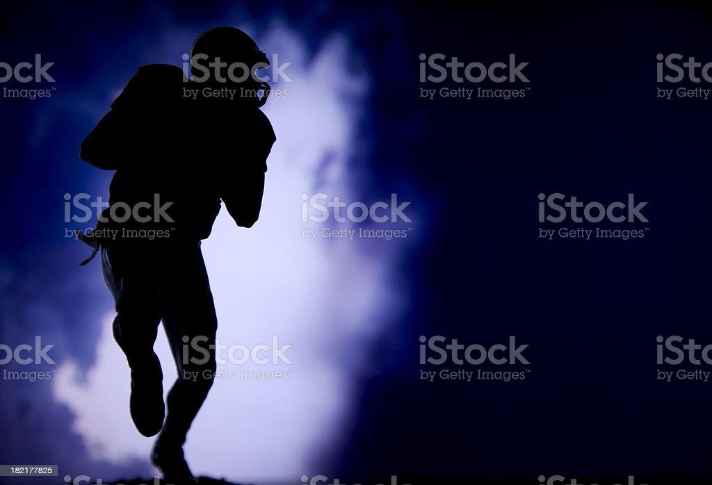 quarterback royalty-free stock photo