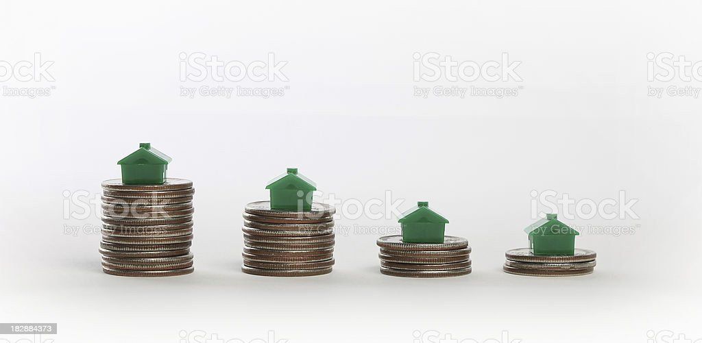 Quarterly Sales Report royalty-free stock photo