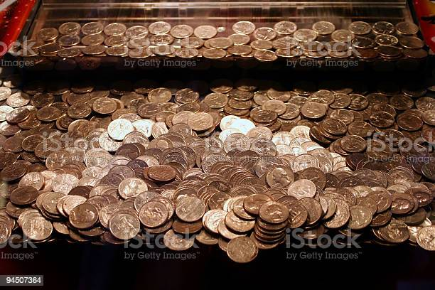 Quarters Game Stock Photo - Download Image Now