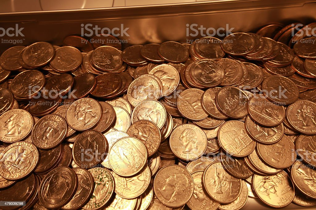 Quarters Stock Photo & More Pictures of 2015 - iStock