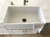 farmhouse deep sink