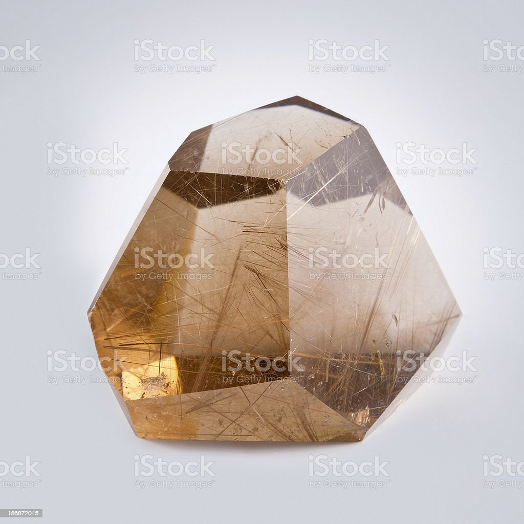 Quartz mineral royalty-free stock photo