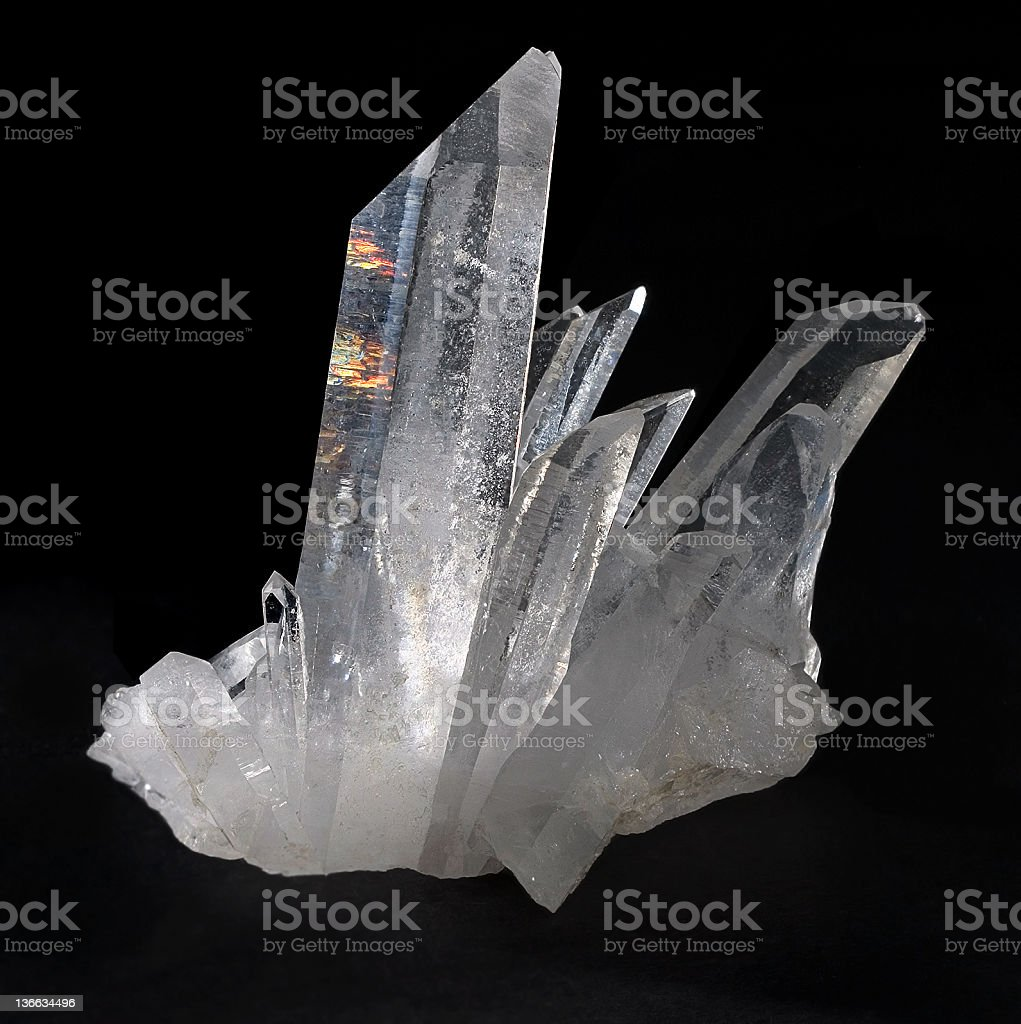 quartz stock photo