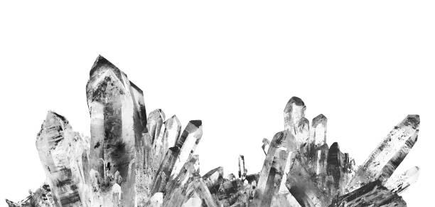 quartz - kristall bildbanksfoton och bilder
