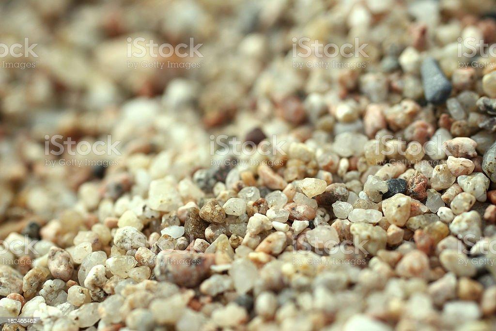 Quartz sand texture background stock photo
