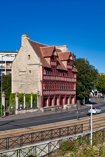 Quatrans House In Caen Stock Photo - Download Image Now