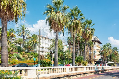 istock Quay in the city of San Remo 1128938607