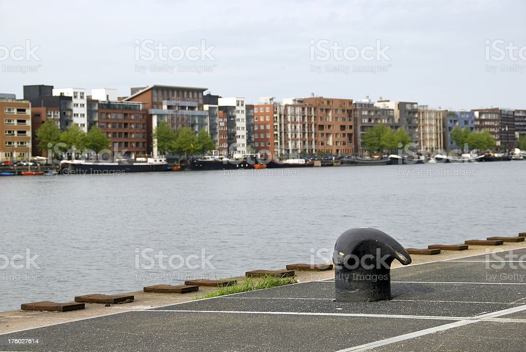 Quay side royalty-free stock photo