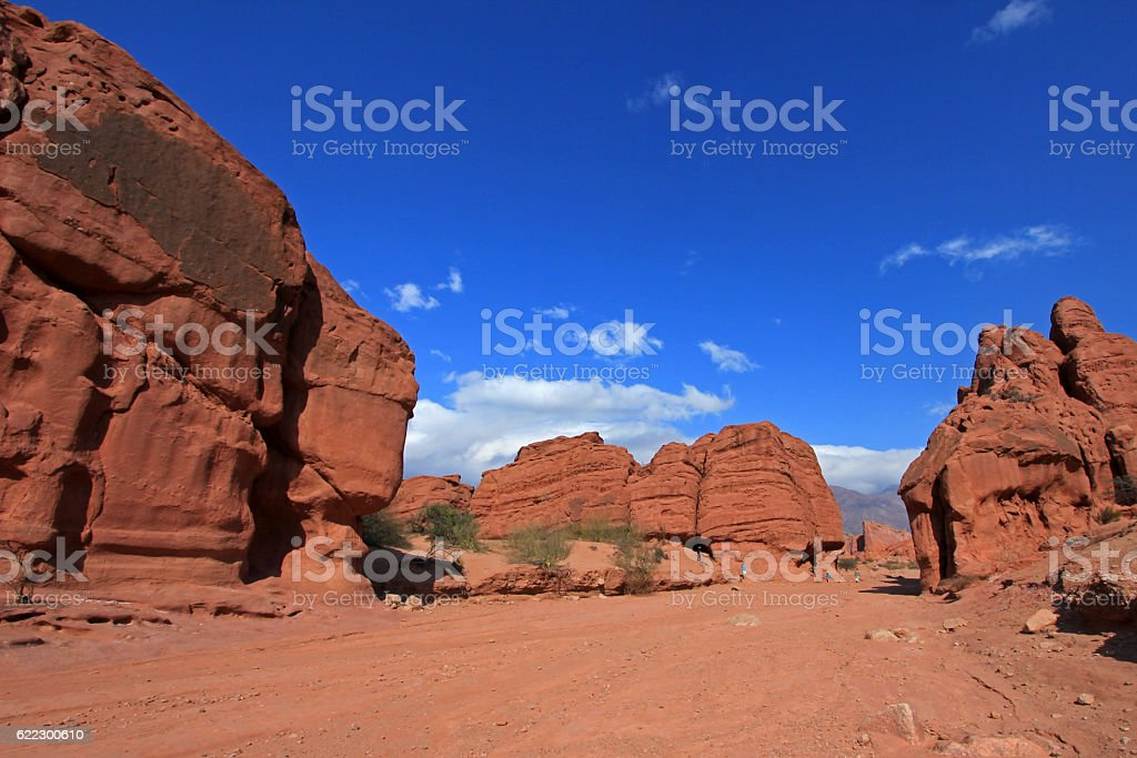 Quebrada de Cafayate valley, Argentina stock photo