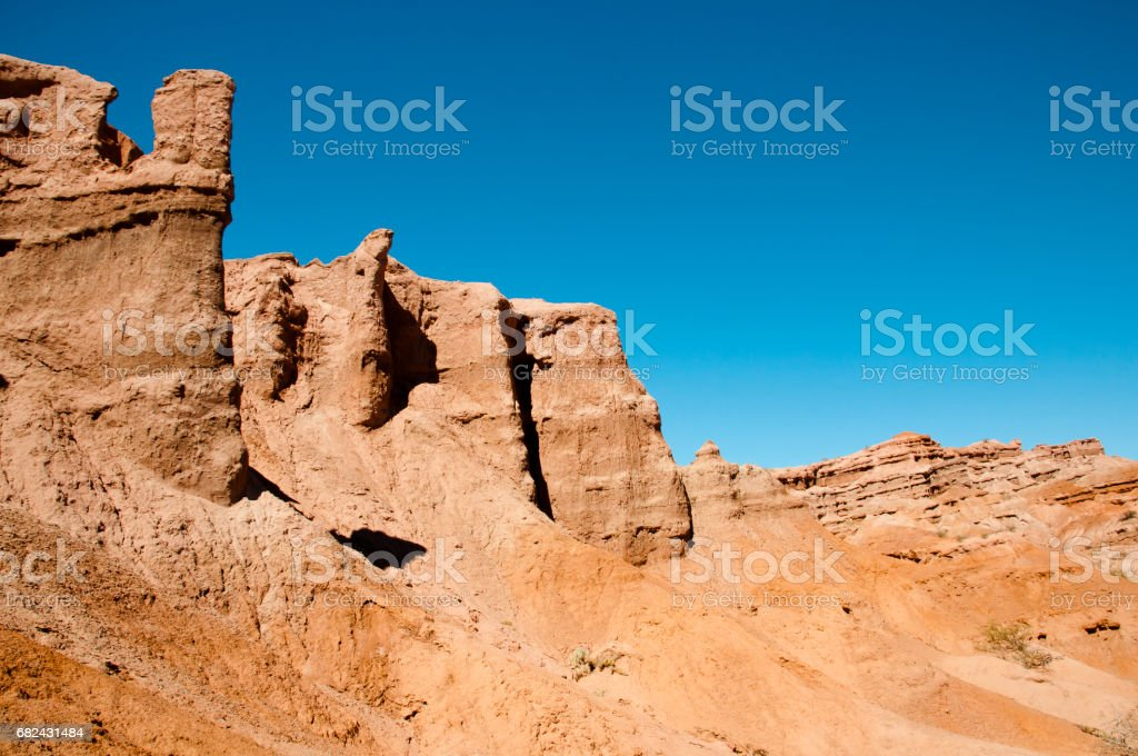 ''Quebrada de las Conchas'' Rock Formations - Salta - Argentina royalty-free stock photo