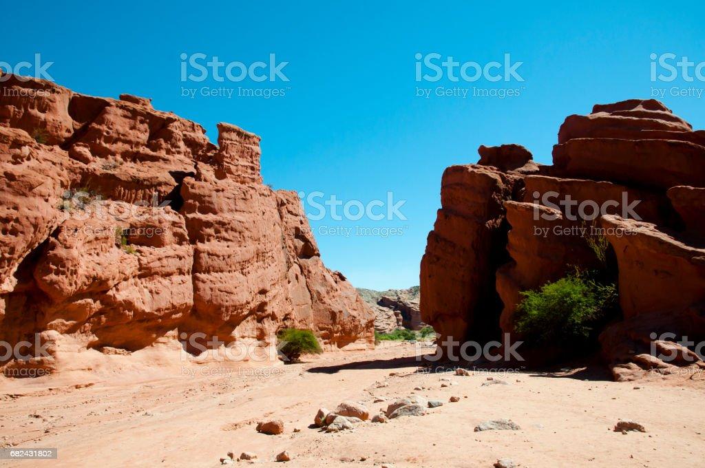''Quebrada de las Conchas'' Rock Formations - Salta - Argentina royalty-free stock photo
